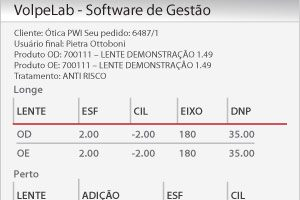 VolpeLab: Sistema para laboratórios óticos - Web Pedidos - PWI